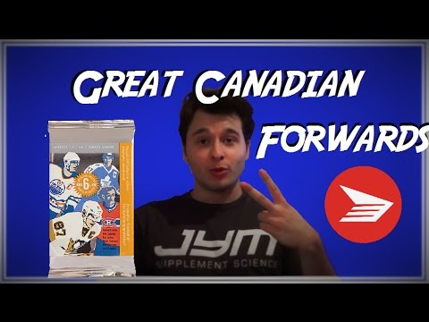 Great Canadian Forwards - Canada Post Collector Stamps Opening