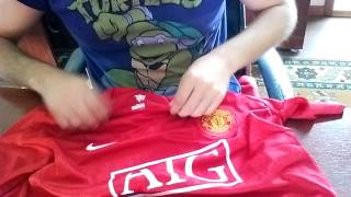 gogoalshop.com review of 06-08 Manchester United Home jersey