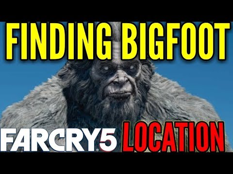FARCRY 5 BIGFOOT CAVE FOUND! YETI HUNT PART 2!