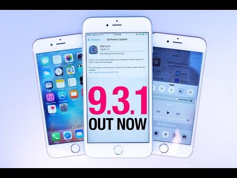 iOS 9.3.1 Released - Everything You Need To Know!