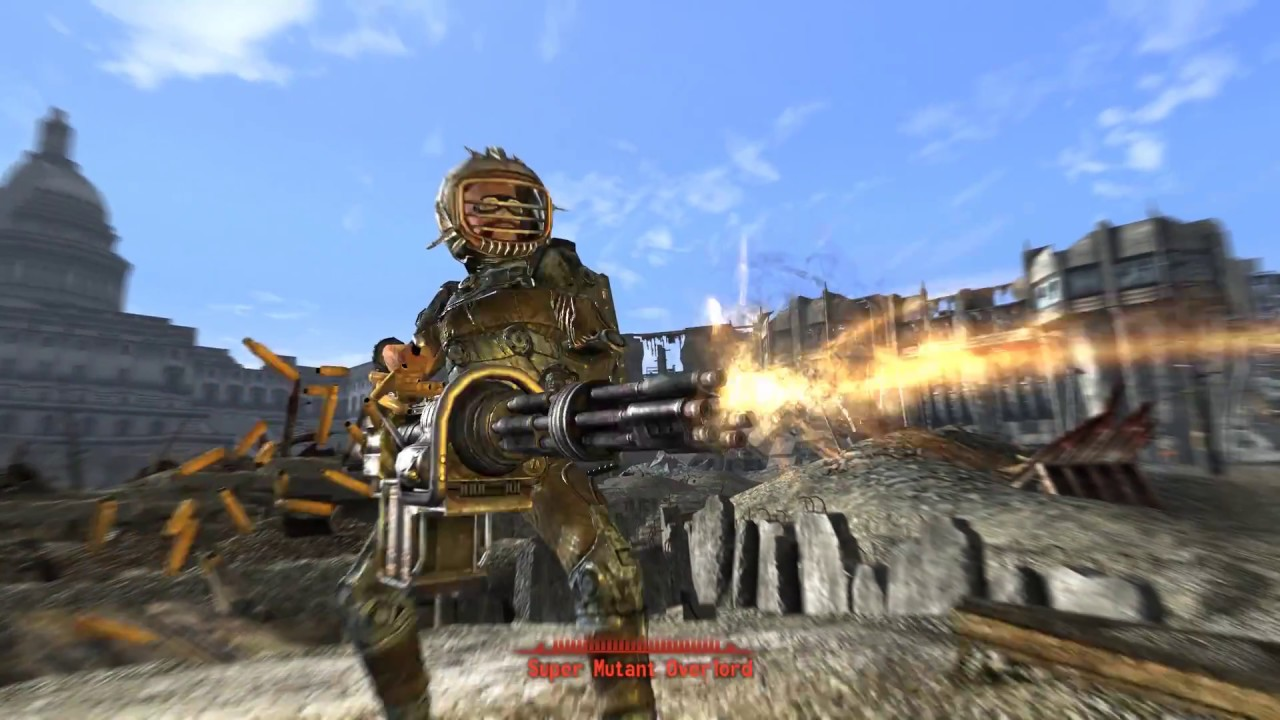 Fawkes the Super Mutant, and Fallout 3 with Mods