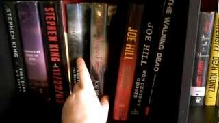 Book Shelf Tour - (april 2012 Update) - Sections 25-26 - Horror Ish