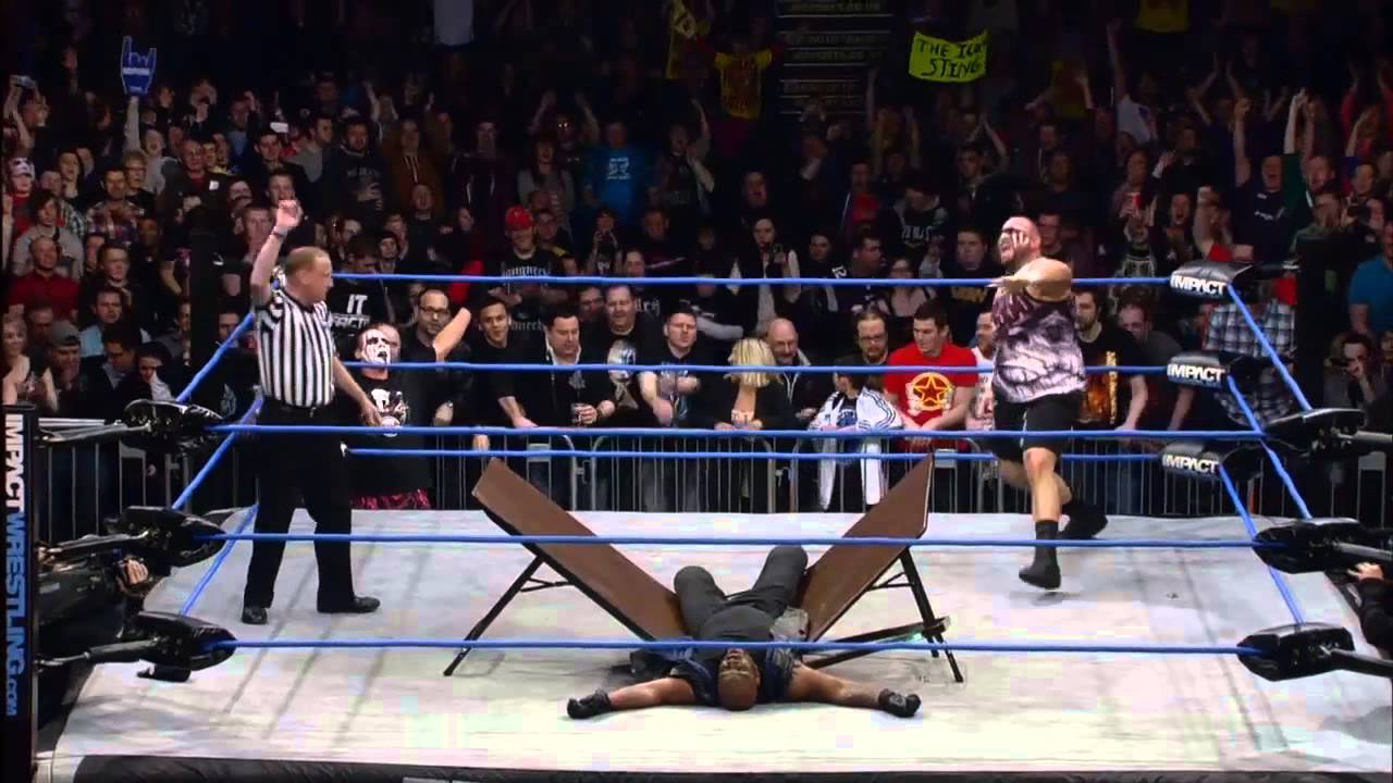 Tables Match: Sting and Bully Ray vs. Doc and Devon - Feb 7, 2013 ...