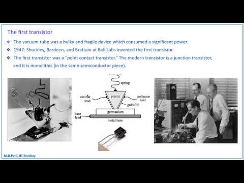Lecture  1  A brief history of electronics