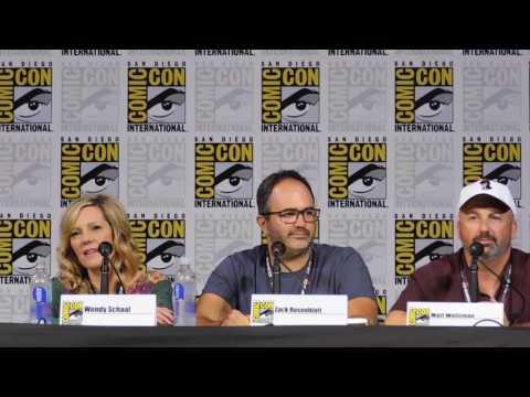 American Dad panel @ SDCC 2017 Wendy Schaal, Scott Grimes, Rachael MacFarlane