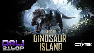 Back to Dinosaur Island VR Tech Demo PC UltraHD 4K Gameplay 60fps 2160p