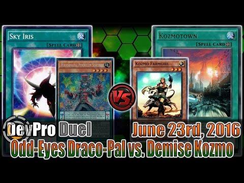 Odd-Eyes Draco-Pal vs. Demise Kozmo - DevPro Duel Commentaries (6/22/2016) Yu-Gi-Oh! Duels