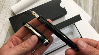 Pilot Custom 912 Fountain Pen with FA Nib Unboxing and Writing Sample