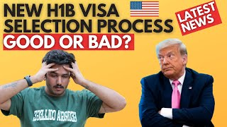 TRUMP Made H1B Visa SELECTION EVEN HARDER! LATEST H1B VISA NEWS!