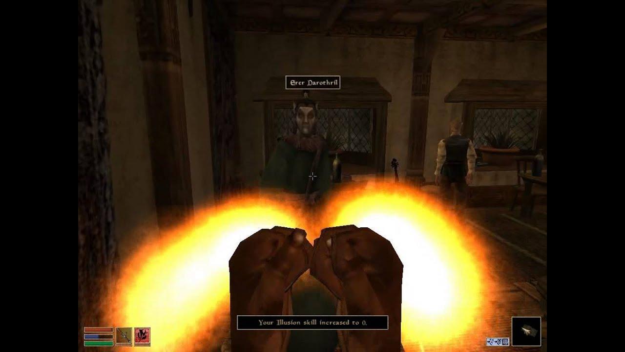 Download Morrowind Drain Skill, infinite levels (100) cheat