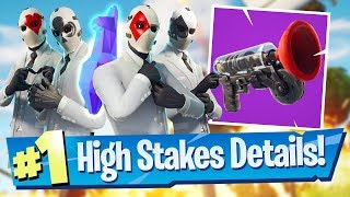 High Stakes Event Details, Getaway + Grappler Footage! - Fortnite Battle Royale