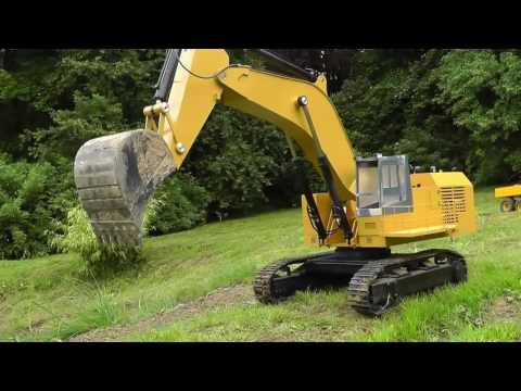 EXCAVATOR l RC DIGGER CAT 5110 B l BIG RC EXCAVATOR l BEST MACHINES l