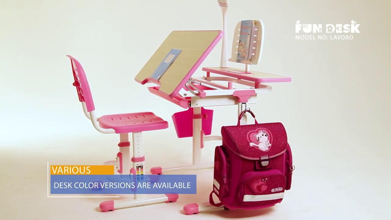 Delightful [Childu0027s Desk Chair Set ] Fun Desk LAVORO