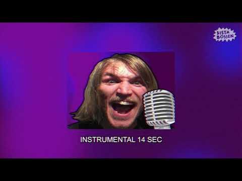 Sista Bossen - En ros, för du är söt (Karaoke) (Official Music Video)