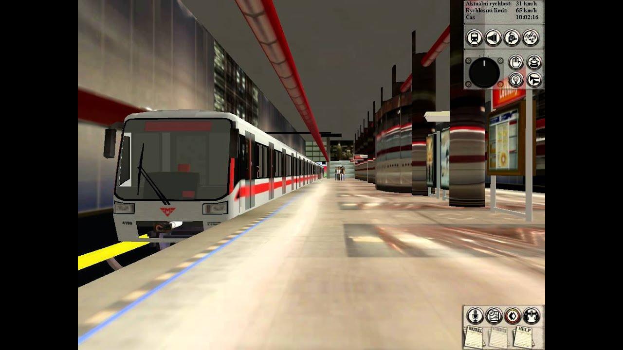 Trainz Metro M1d Youtube