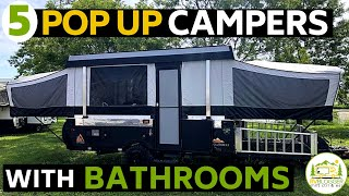 5 Best Pop Up Campers with a Bathroom