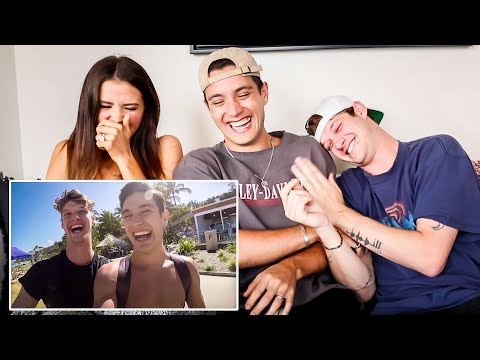 REACTING TO OUR FIRST VLOGS W/ JACKO BRAZIER (3 YEARS LATER)