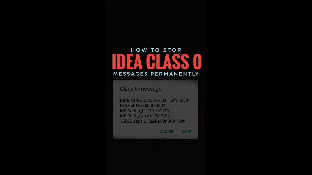 Image result for Class 0 Message