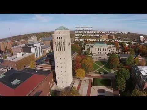 Fly Over Ann Arbor