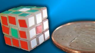 World's Smallest Rubik's Cube!! -- Elemental Cube Unboxing