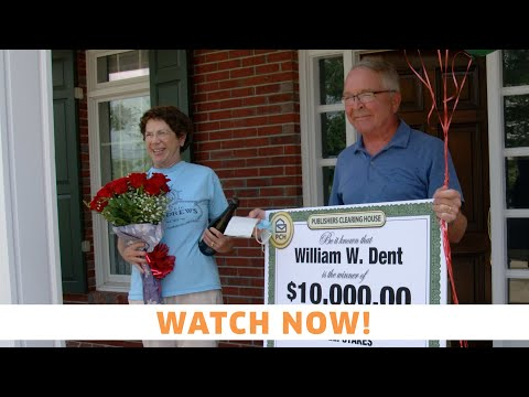 PCH Sweepstakes Winner: William Dent From Panama City, FL Wins $10,000.00