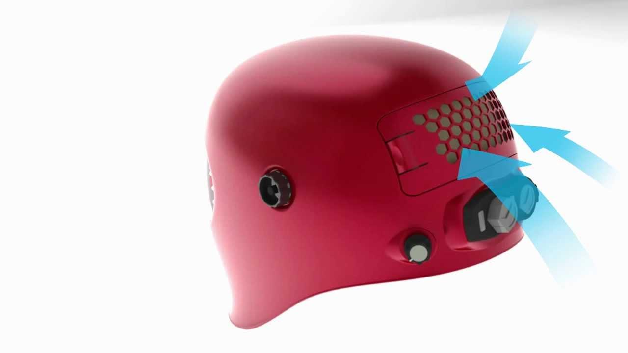 Welding Helmet - Integrated Ventilation - Michael Buckman Fume Fighter