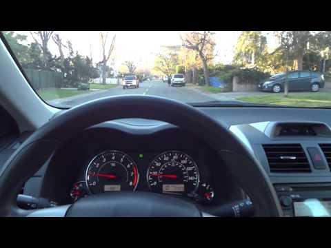 Driving through Sherman Oaks CA