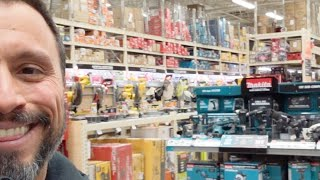 Biggest Tool Depart Selection At The Home Depot (Jan 2019)