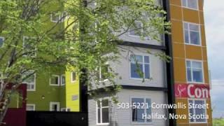 Healthful Homes Realty - Tour of 503-5221 Cornwallis Street, Halifax