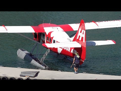 RED Harbour Air DHC-3 Turbine Otter | Landing & Taxiing
