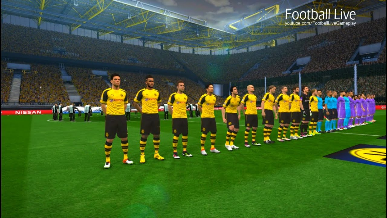 dortmund champions league 2017