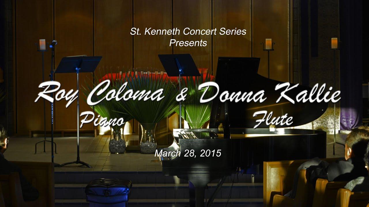 Roy Coloma Amp Donna Kallie St Kenneth 2014 2015 Concert