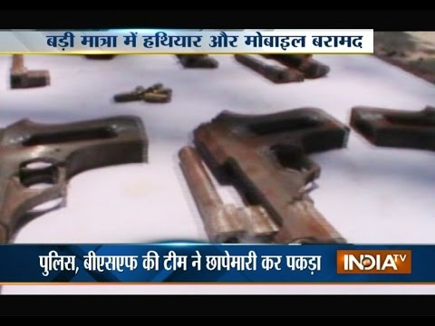 Police Busted Illegal Arm Factory at Malda | India TV