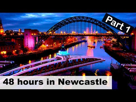 WHAT TO DO in #Newcastle 48 hour travel guide / vlog pt1 😁