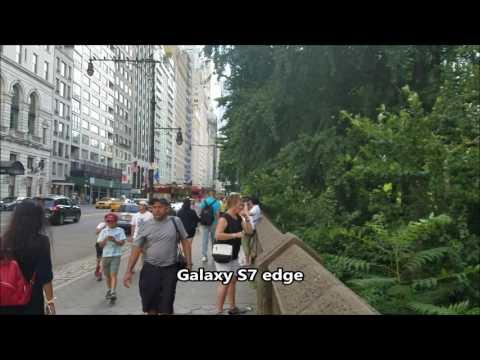 Sony Xperia XA Ultra vs Galaxy S7 edge Camera Test
