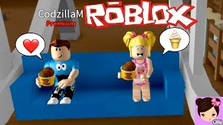 Roblox Play Date with Goldie & Friends Roleplay - Baby Goldie Escapes the Ice Cream Parlor.