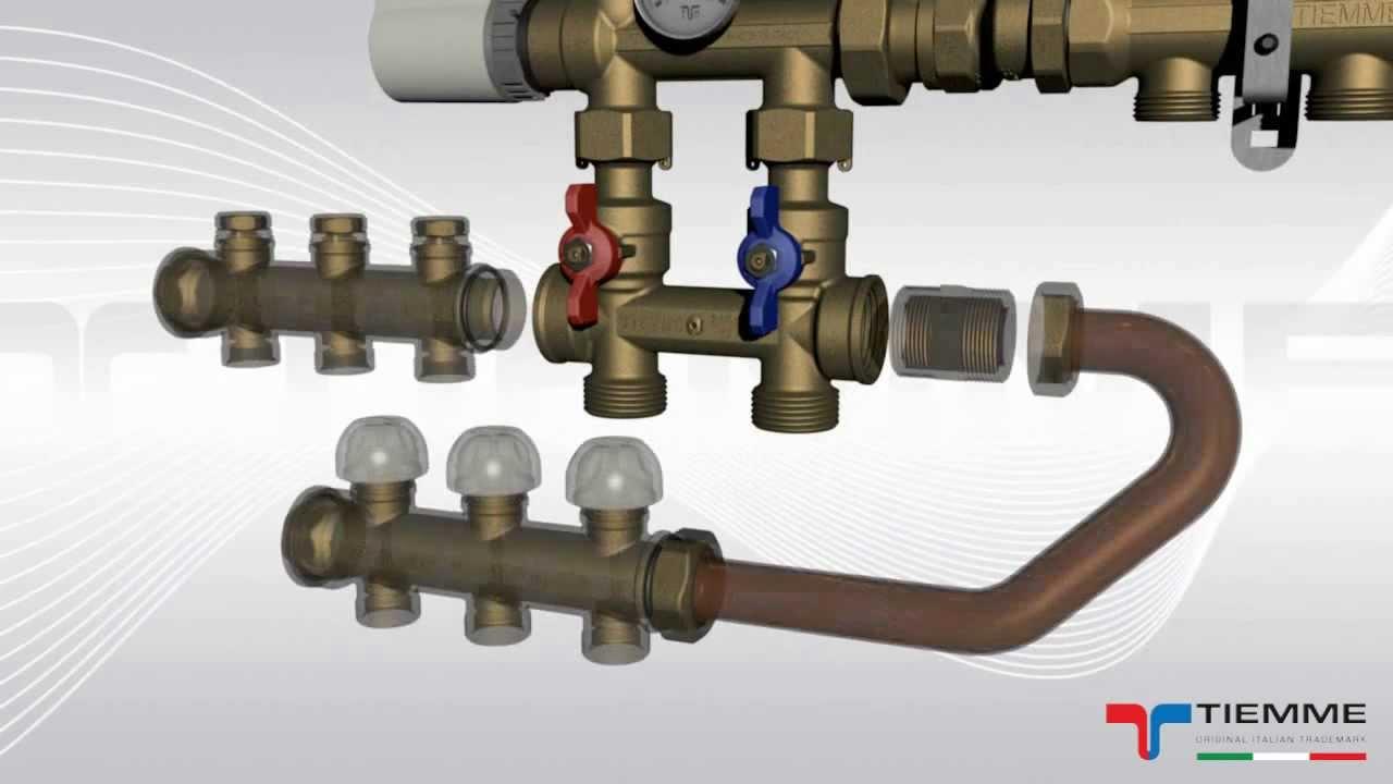 Temperatura Mandata Impianto A Pavimento art.3895g - gruppo di miscelazione per impianti radianti