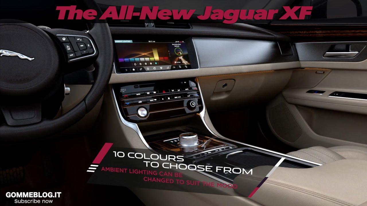 The All New Jaguar Xf Interior Design Youtube