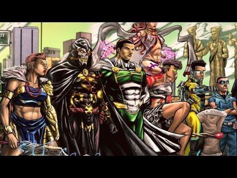 Le Nigeria se lance dans les super-héros 100% africains