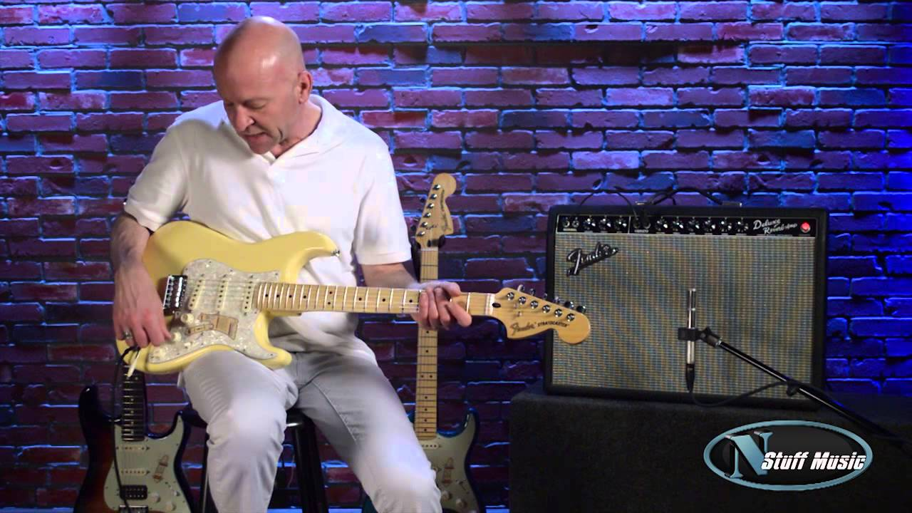 fender deluxe roadhouse stratocaster n stuff music product review youtube. Black Bedroom Furniture Sets. Home Design Ideas