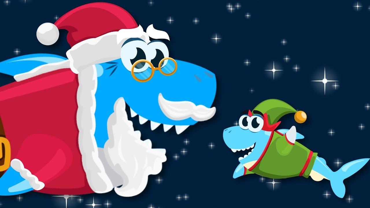 Santa Shark | Baby Shark Christmas Song - YouTube