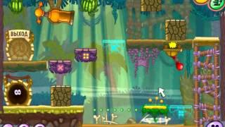 Игра Улитка Боб 8 (Приключение на зимней рыбалки)