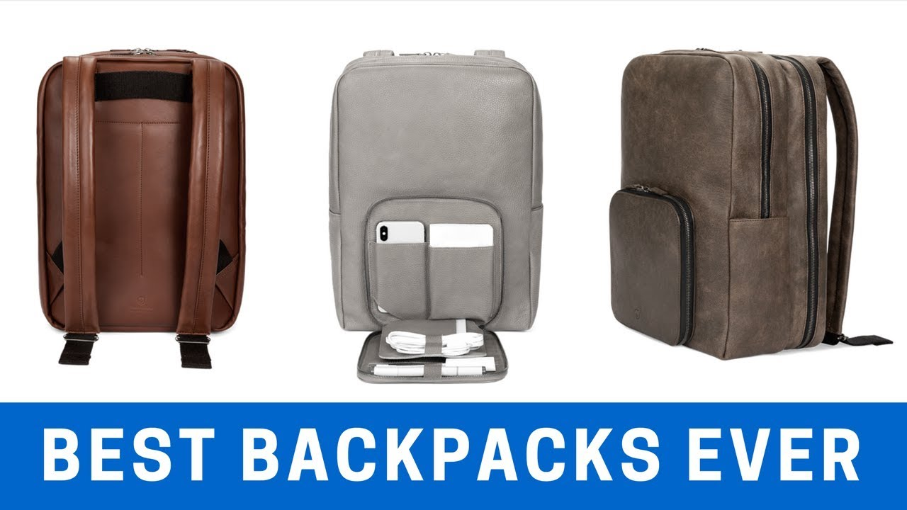 The Best Backpacks In The World Got Even BETTER! - YouTube b6c7f219d7d34