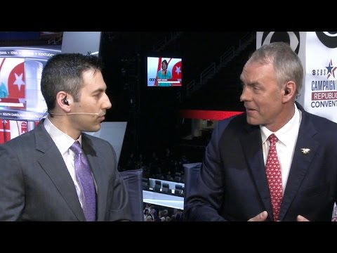 Rep. Zinke on Trump-Pence ticket, Republican National Convention