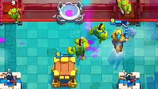 GOBLIN CAGE NEW CARD GAMEPLAY CLASH ROYALE Update!