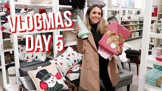 CHRISTMAS SHOPPING AT TARGET | ALEX AND MICHAEL VLOGMAS!