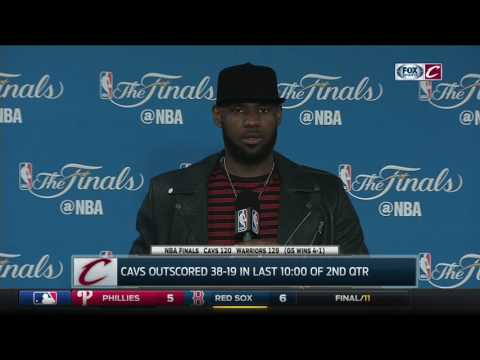 Download Youtube: LeBron James postgame after Game 5 loss to Warriors | NBA Finals 2017