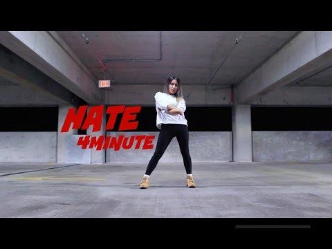 4MINUTE(포미닛) - 싫어(Hate) - Lisa Rhee Dance Cover