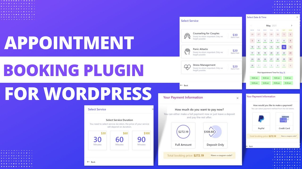 How to Add Appointment Booking System To WordPress Website |  LatePoint Booking Plugin