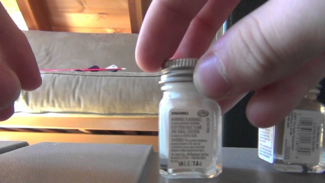 Unboxing Testors enamel paint for AR15 color fill - YouTube